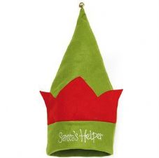 "KIDS FELT ""SANTA'S HELPER"" ELF HAT"